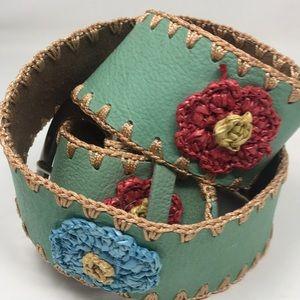 Leather Womans Belt